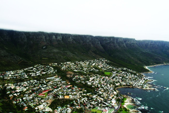 Panoramic view of Camps Bay