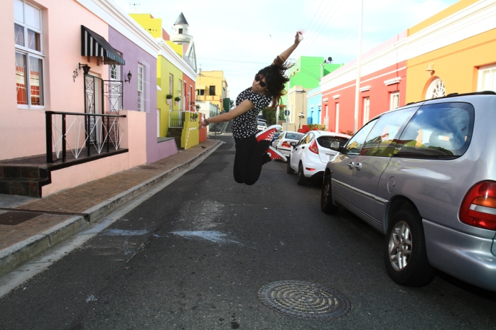 Boitumelo jump by Taazima